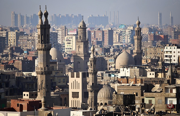 "The minaret's of mosques are pictured in Cairo. Egypt could be included in Donald Trump's proposed ban on ""terrorist"" nations. MOHAMED EL-SHAHED/AFP/Getty Images"