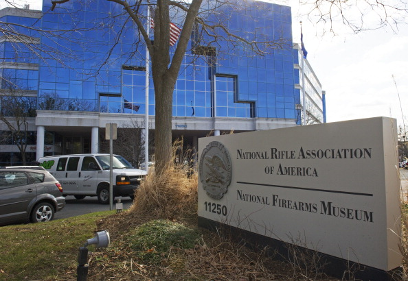 The National Rifle Association headquarters in Fairfax, Virginia. PAUL J. RICHARDS/AFP/Getty Images)