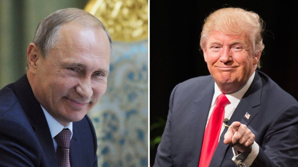 Vladimir Putin and Donald Trump. Photo credit: Reuters