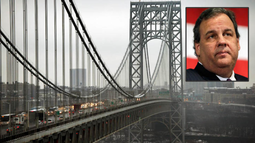 Governor Chris Christie. The George Washington Bridge traffic jam. Getty Images