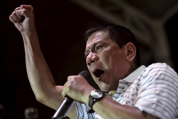 Philippine president Rodrigo Duterte Photo credit: REUTERS/Ezra Acayan