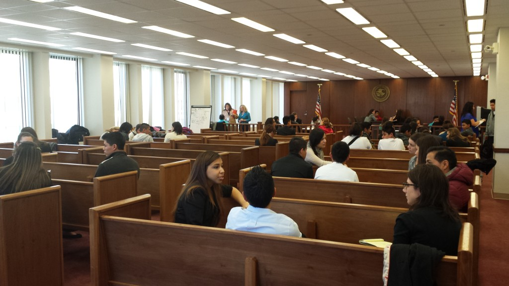 Inside an Immigration Courtroom and Inside the Judge's Head