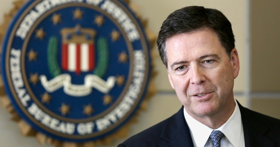 Director of the Federal Bureau of Investigation, James B. Comey