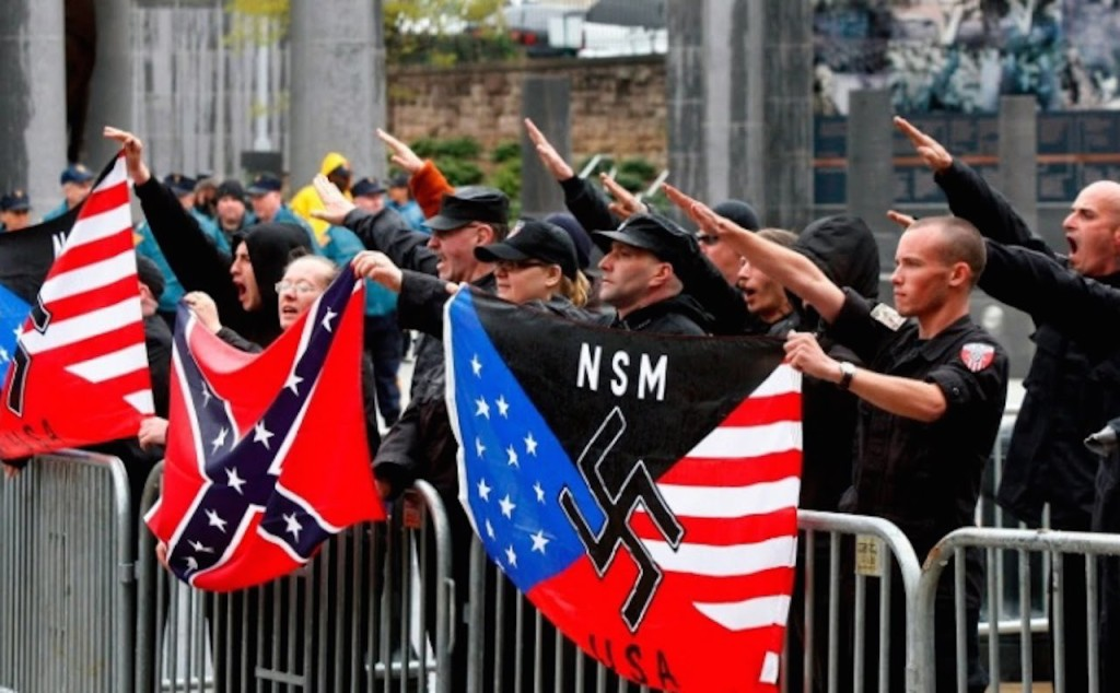 The alt-right and some of their symbols