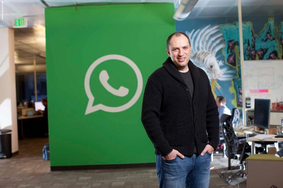 Jan Koum, founder of WhatsApp