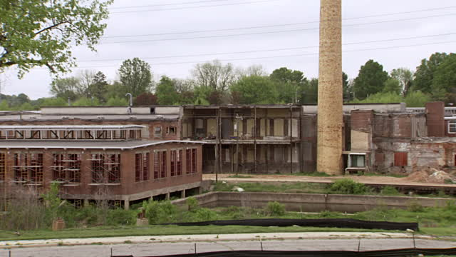 Abandoned factory, Greensboro, North Carolina. Photo credit: Getty Images.