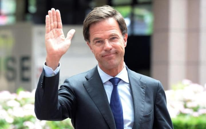 Netherland's Prime minister Mark Rutte. Photo credit: Thierry Charlier/AFP/Getty images.