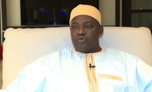 Adama Barrow, the new president of Gambia.
