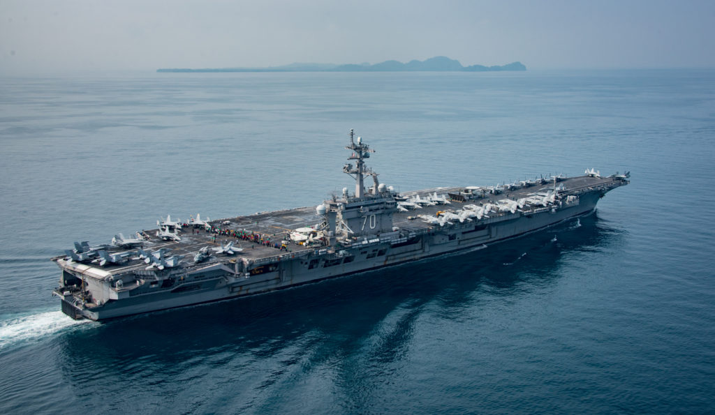 U.S. Aircraft Carrier Carl Vinson: Where Are You?