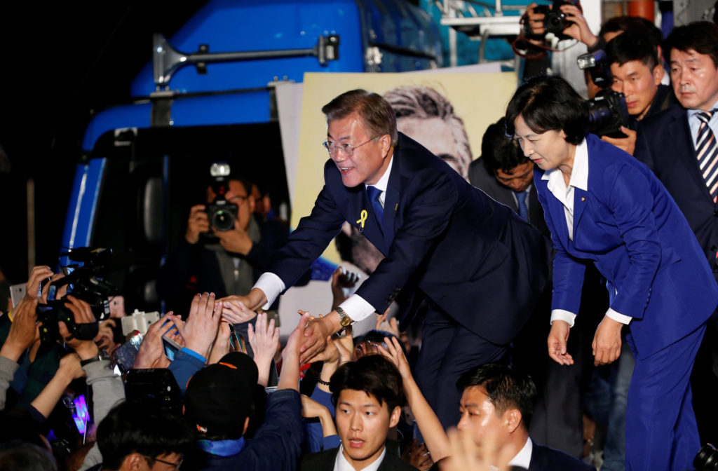 New South Korean President Vows to Work with North Korea