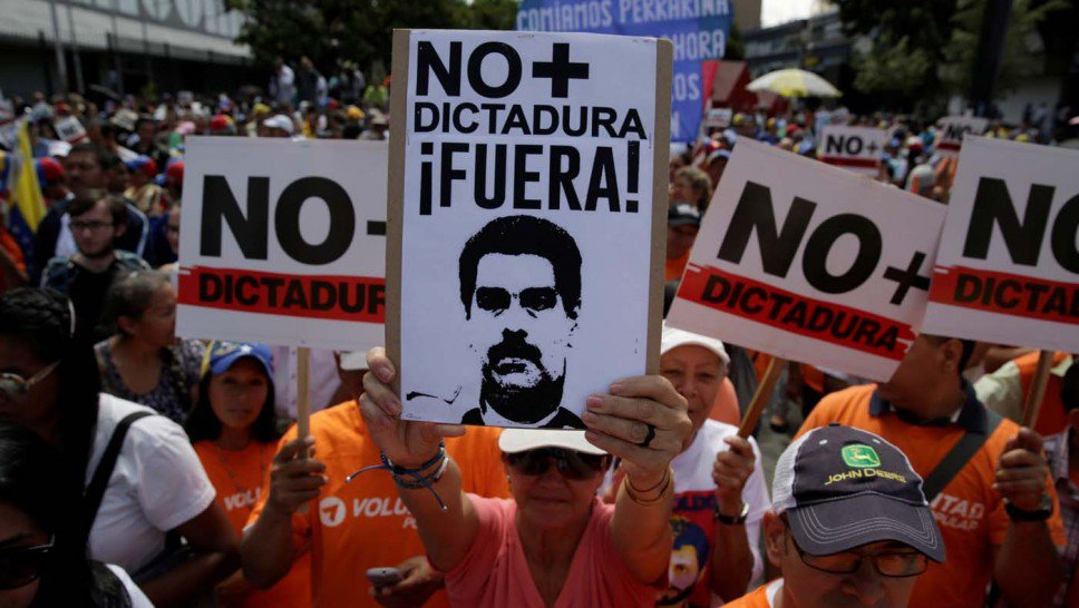 Venezuela Heads Down the Dark Road to Dictatorship