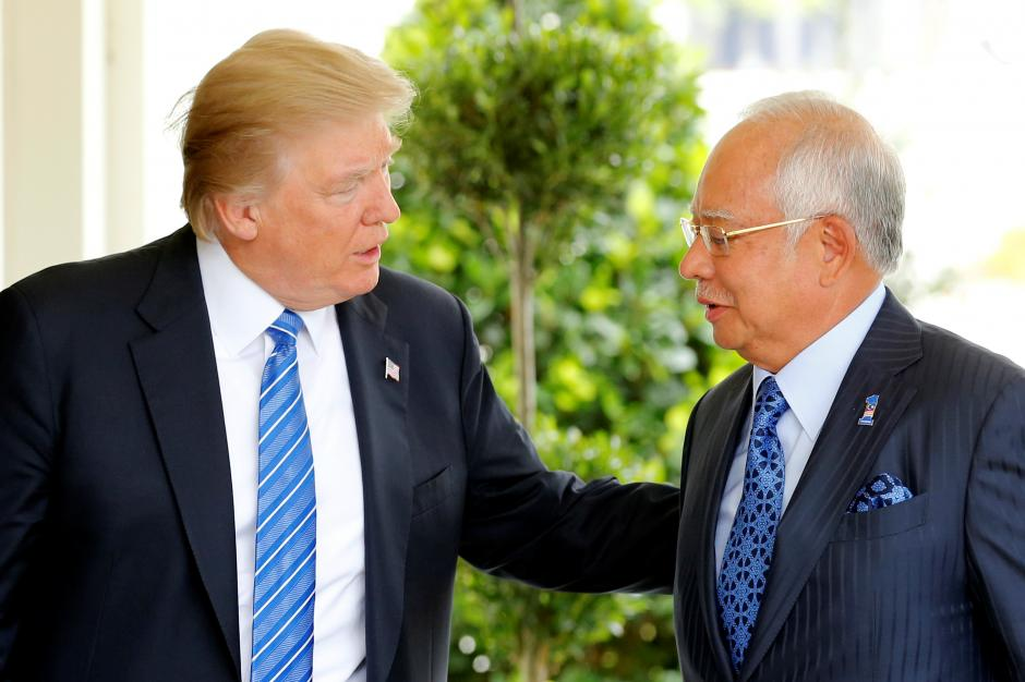 Trump Welcomes Prime Minister of Malaysia