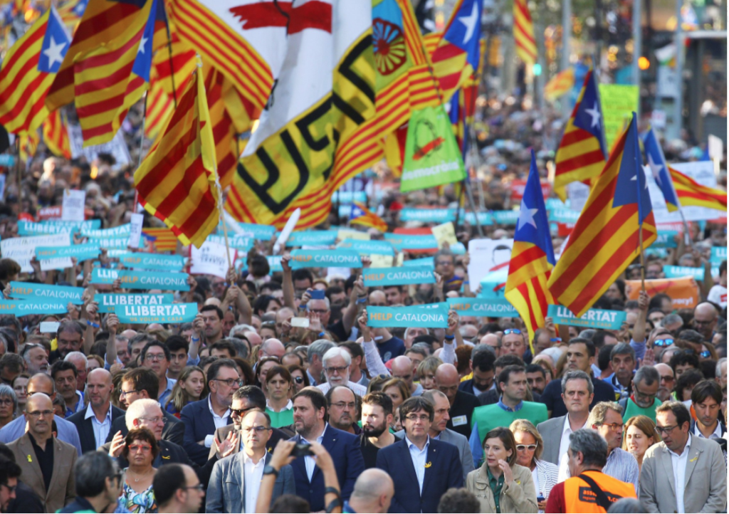 Catalan Region in Spain Fights to be Independent