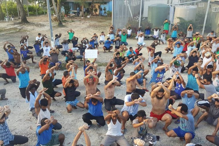 Refugees on Manus Island Come to the End of the Road