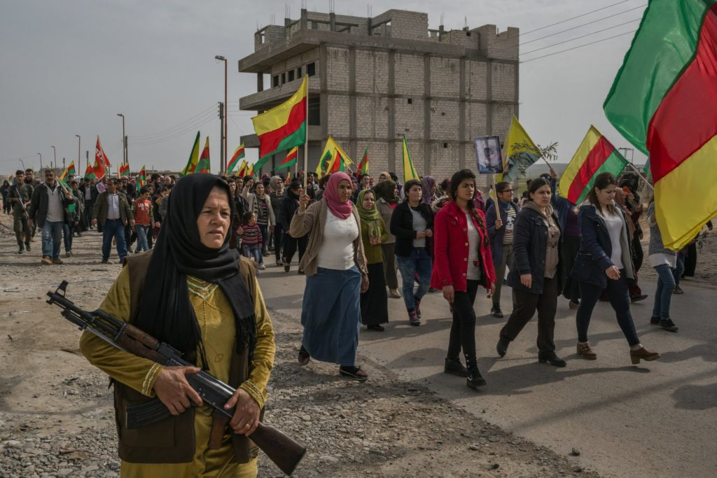 Kurdish Women are Free and Armed
