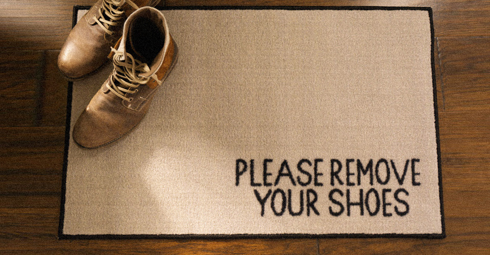New Danger: The Bottom of Your Shoes