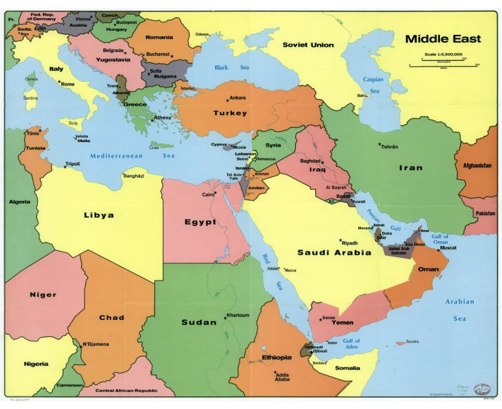 russia middle east map The Middle East Strikes Again The Times In Plain English